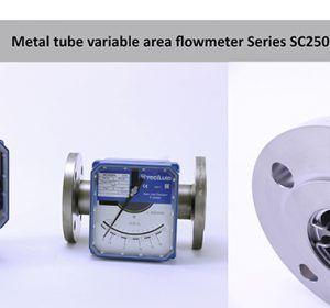 Metal_tube_variable_area_flowmeter_SC250_Tecfluid