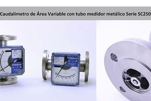 Caudalimetro_Area_variable_tubo_metálico_SC250_Tecfluid