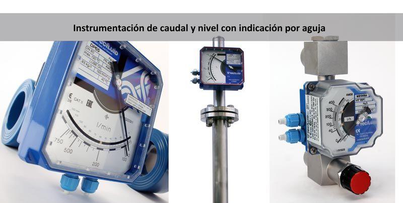 Instrumentación-caudal-y-nivel-con-indicación-por-aguja-Tecfluid