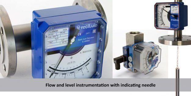 Flow-and-level-instrumentation-with-indicating-needle-Tecfluid