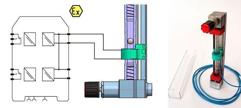 Automatismo-amd-caudalimetros-area-variable-serie-2000-Tecfluid