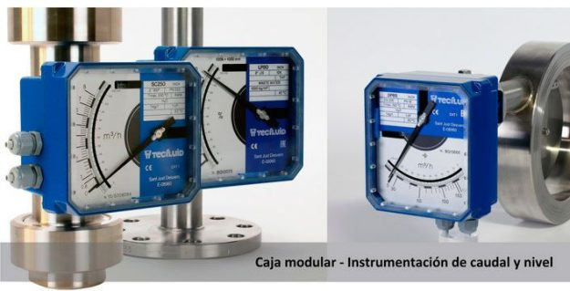 Instrumentacion-caudal-y-nivel-Caja-modular-Tecfluid