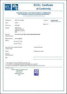 Certificado_IECEx_CoC_Tecfluid