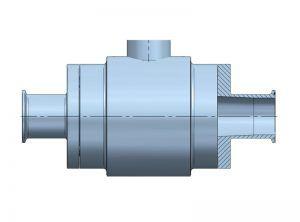 Electromagnetic-flowmeter-Flomid-5IFX-Clamp-ISO-2852-tecfluid