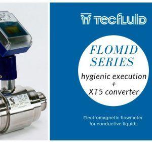 Flomid-xt5-hygienic-electromagnetic-flowmeter-tecfluid